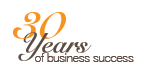 30 Years of business success